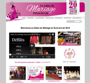 Découvrez la collection 2013 du salon du mariage en Eure-et-Loir